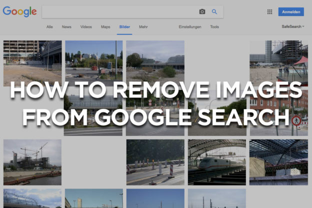 How to remove images from Google Search