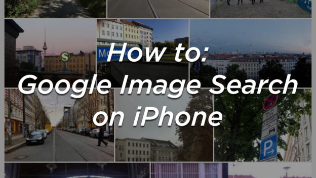 How to: Google Image Search on iPhone